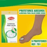 Protetor de Calo - Calosidade - Anel Almofada - Espuma EVA - Adesiva - Qualype