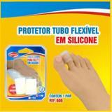 Protetor de Dedos - Tubular - Silicone - Transparente - Qualype