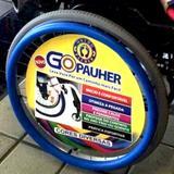 Protetor Emborrachado para Aro Impulsor de Cadeira de Rodas GoPauher Orthopauher 0066FF 20
