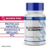 Protetor hepático natural - Alcachofra 300mg + Silimarina 50mg - 120 cáps - Unicpharma