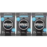 Prudence Cabeção Preservativos C/3 (Kit C/03)