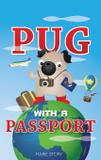 Pug with a Passport - Papernewt llc