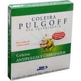Pulgoff Coleira Antipulgas e carrapatos para cães de médio porte Mundo Animal