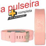 Pulseira magnética rosa rvfit - com íons negativo