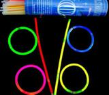 Pulseira Neon Colorida Festas Vip  100 Unidades Formaturas - Brbrinq