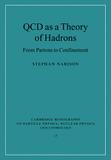 Qcd as a theory of hadrons - Cua - cambridge usa
