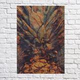 Quadro Abacaxi Color Osb 35X25 - Promograf