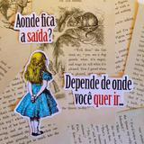 Quadro ALICE GATO por Vicky Fernandez - Cuadrado