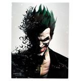 Quadro de Metal - Batman Arkham - Coringa - Zona criativa