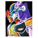 Quadro de Metal - Dragon Ball Villains 26x19 - Zona criativa
