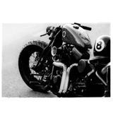 Quadro De Vidro Moto 8 Lateral Esquerda - Versare anos dourados