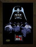 Quadro Decorativo 24x33 Poster Star Wars Art e Cia - Natural