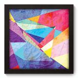Quadro Decorativo - Abstrato - 22cm x 22cm - 175qdap - Allodi