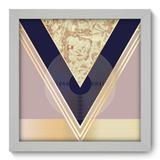 Quadro Decorativo - Abstrato - 22cm x 22cm - 181qnaab - Allodi