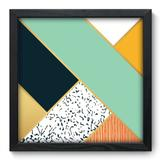 Quadro Decorativo - Abstrato - 33cm x 33cm - 187qnabp - Allodi