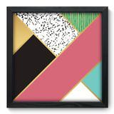 Quadro Decorativo - Abstrato - 33cm x 33cm - 188qnabp - Allodi