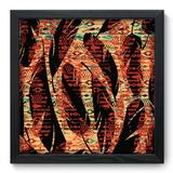 Quadro Decorativo - Abstrato - 33cm x 33cm - 281qdap - Allodi