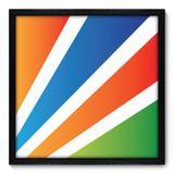 Quadro Decorativo - Abstrato - 50cm x 50cm - 055qnacp - Allodi