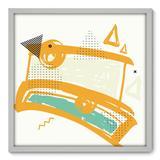 Quadro Decorativo - Abstrato - 70cm x 70cm - 106qnadb - Allodi