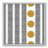 Quadro Decorativo - Abstrato - 70cm x 70cm - 119qnadb - Allodi