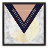 Quadro Decorativo - Abstrato - 70cm x 70cm - 180qnadp - Allodi