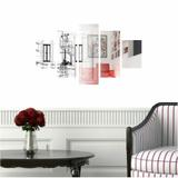 Quadro Decorativo Arquitetura Profissão 114x65cm - Quadros mais