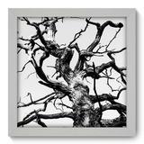 Quadro Decorativo - Árvore - 22cm x 22cm - 043qnpab - Allodi