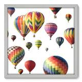 Quadro Decorativo - Balões - 50cm x 50cm - 020qndcb - Allodi