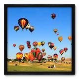 Quadro Decorativo - Balonismo - 50cm x 50cm - 108qnpcp - Allodi