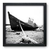 Quadro Decorativo - Barco - 33cm x 33cm - 020qnpbp - Allodi