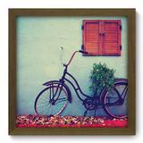 Quadro Decorativo - Bicicleta - 33cm x 33cm - 109qdvm - Allodi