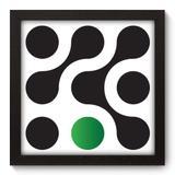Quadro Decorativo - Bolas - 22cm x 22cm - 047qnaap - Allodi