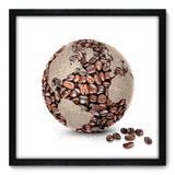 Quadro Decorativo - Café - 50cm x 50cm - 004qnccp - Allodi