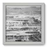 Quadro Decorativo - Cânion - 22cm x 22cm - 087qnpab - Allodi