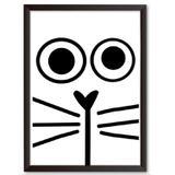 Quadro Decorativo - Cat - 25x19cm - Cool art