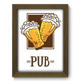 Quadro Decorativo - Cerveja - 19cm x 25cm - 338qdcm - Allodi