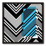 Quadro Decorativo - Chevron - 70cm x 70cm - 078qnadp - Allodi