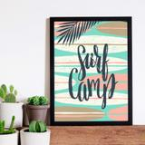Quadro Decorativo com Moldura Suerf Camp - Love decor