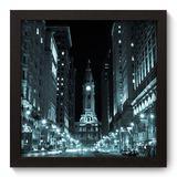 Quadro Decorativo - Filadélfia - 22cm x 22cm - 087qnmap - Allodi