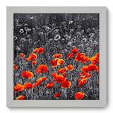 Quadro Decorativo - Flores - 22cm x 22cm - 022qnfab - Allodi