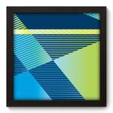 Quadro Decorativo - Geometria - 22cm x 22cm - 199qnaap - Allodi