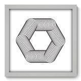 Quadro Decorativo - Geometria - 33cm x 33cm - 083qnabb - Allodi