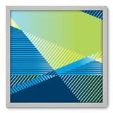 Quadro Decorativo - Geometria - 50cm x 50cm - 200qnacb - Allodi