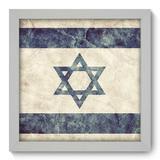 Quadro Decorativo - Israel - 22cm x 22cm - 116qdmb - Allodi