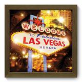 Quadro Decorativo - Las Vegas - 22cm x 22cm - 061qdmm - Allodi