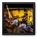 Quadro Decorativo - Las Vegas - 33cm x 33cm - 042qnmbp - Allodi
