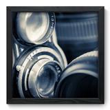 Quadro Decorativo - Lentes - 33cm x 33cm - 002qnvbp - Allodi