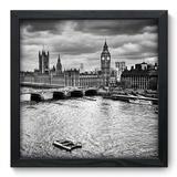 Quadro Decorativo - Londres - 33cm x 33cm - 083qnmbp - Allodi