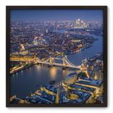Quadro Decorativo - Londres - 70cm x 70cm - 084qnmdp - Allodi