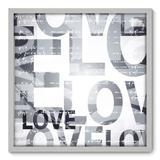 Quadro Decorativo - Love - 70cm x 70cm - 107qnddb - Allodi